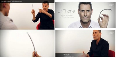 Mentalis Ini Bengkokkan iPhone 6 denganPikirannya!